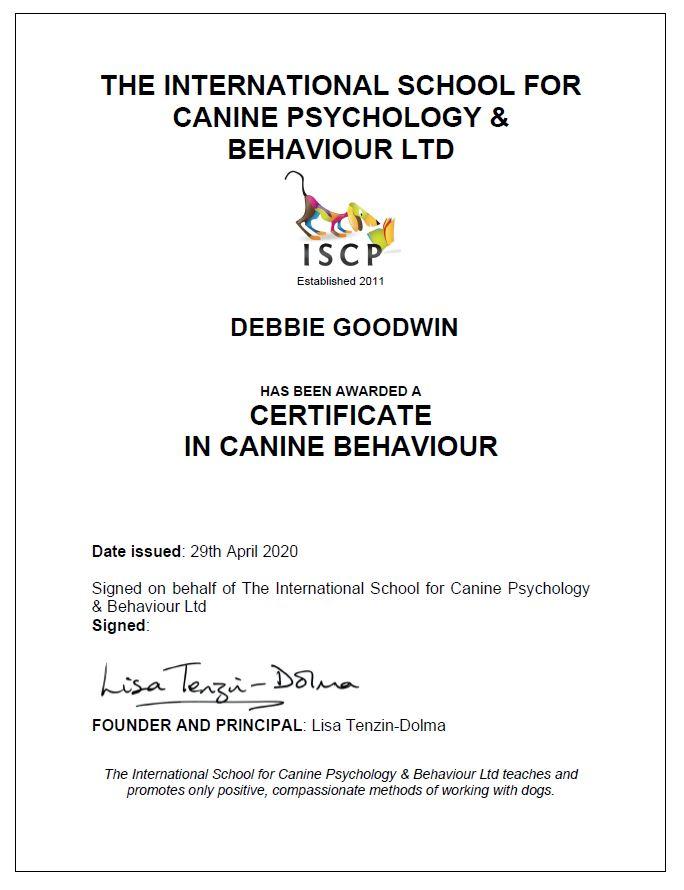 ISCP Certificate